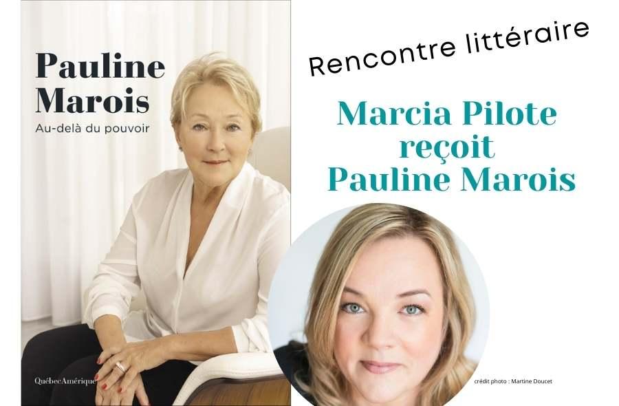 Ville de saint-Eustache - Rencontre littéraire : Marcia Pilote reçoit Pauline Marois