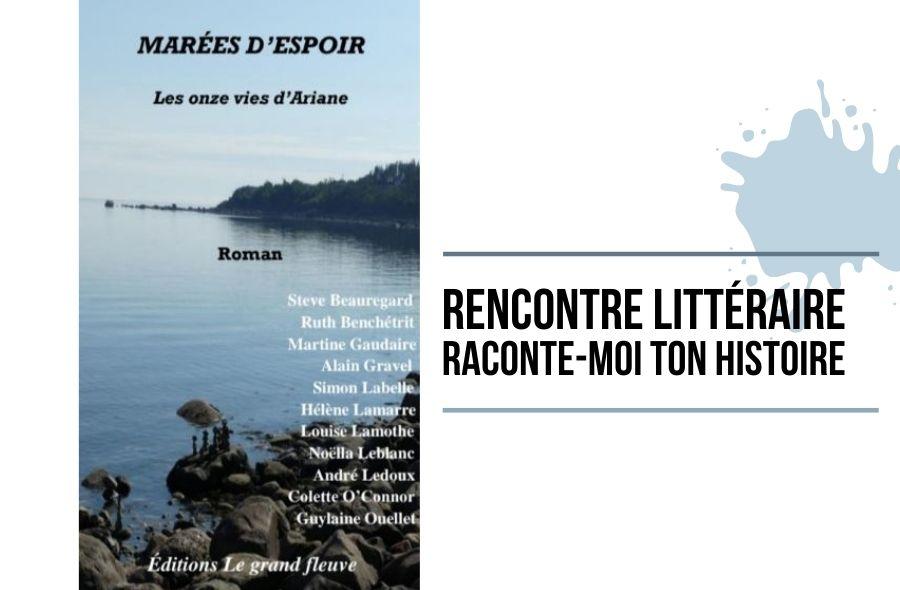 Ville de saint-Eustache - Rencontre littéraire virtuelle : Raconte-moi ton histoire